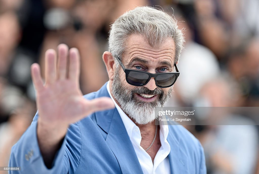 <a gi-track='captionPersonalityLinkClicked' href=/galleries/search?phrase=Mel+Gibson&family=editorial&specificpeople=201512 ng-click='$event.stopPropagation()'>Mel Gibson</a> attends the 'Blood Father' photocall during the 69th annual Cannes Film Festival at Palais des Festivals on May 21, 2016 in Cannes, France.
