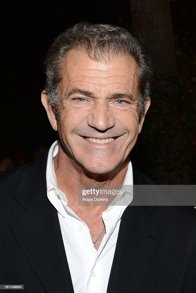 <a gi-track='captionPersonalityLinkClicked' href=/galleries/search?phrase=Mel+Gibson&family=editorial&specificpeople=201512 ng-click='$event.stopPropagation()'>Mel Gibson</a> attends the Electric Entertainment AFM Party at the Viceroy Hotel on November 8, 2013 in Santa Monica, California.