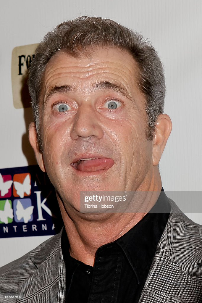 Mel Gibson attends the Mending Kids International celebrity poker tournament at The London Hotel on December 1, 2012 in West Hollywood, California.