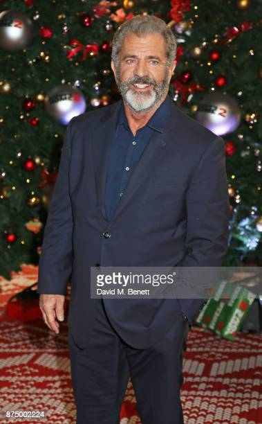 Mel Gibson attends the UK Premiere of 'Daddy's Home 2' at the Vue West End on November 16 2017 in London England