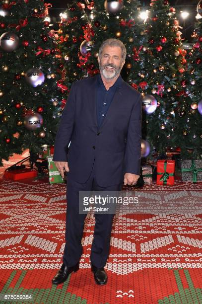 Mel Gibson attends the UK Premiere of 'Daddy's Home 2' at Vue West End on November 16 2017 in London England