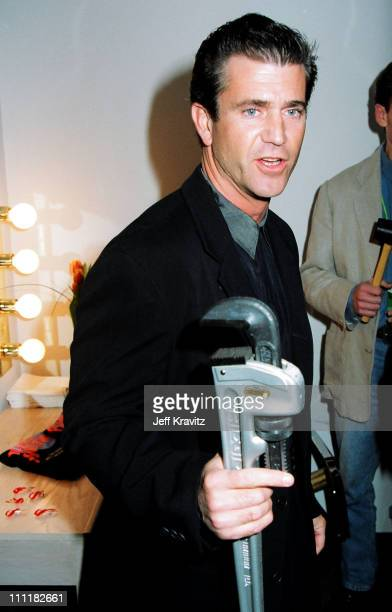 Mel Gibson during 1993 MTV Movie Awards at Sony Studios in Culver City California United States