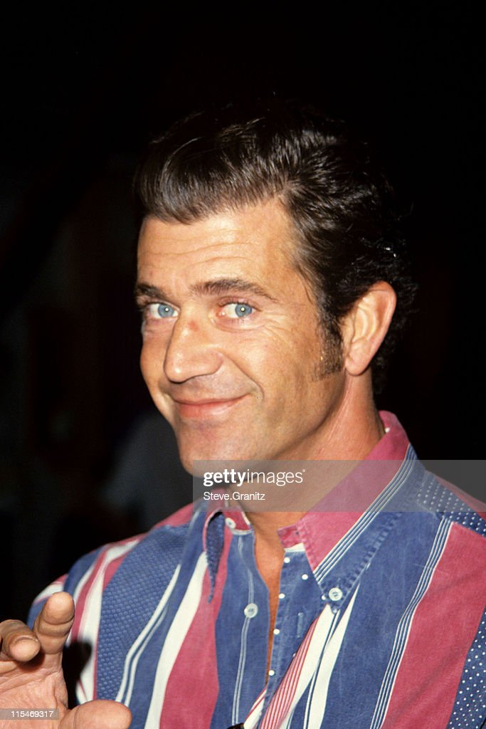 Mel Gibson during Mel Gibson at Celebrate Starlight 93' United States