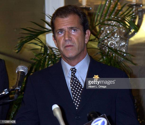 Mel Gibson in association with Los Angeles Sheriff Lee Baca presented 13year old Kayla March daughter of slain deputy David March with a $10000...