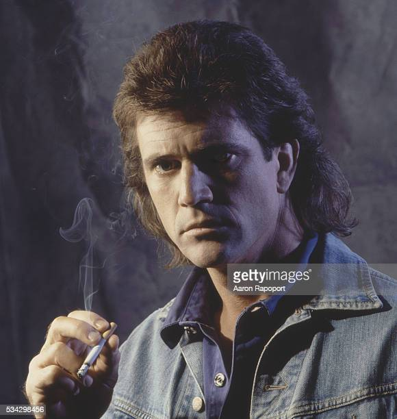 Mel Gibson in publicity shot for Lethal Weapon