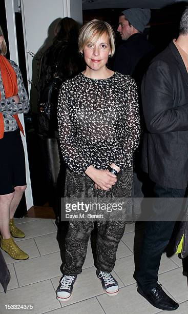 Mel Giedroyc attends an after party celebrating the press night performance of 'Our Boys' at One Aldwych on October 3 2012 in London England