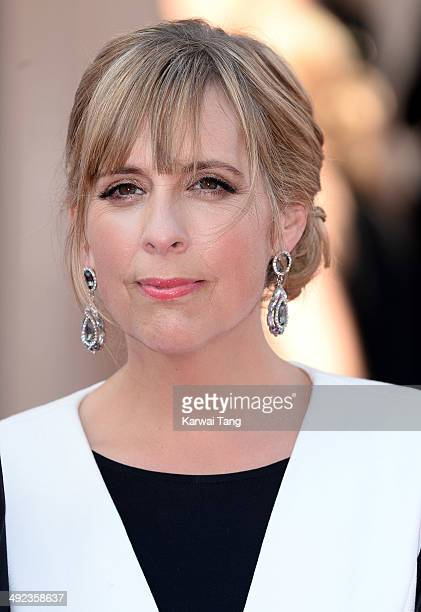 Mel Giedroyc attends the Arqiva British Academy Television Awards held at the Theatre Royal on May 18 2014 in London England