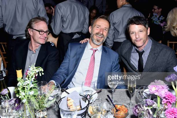 Mel Kendrick Mike Bennett and Billy Weiner attend The 11th Annual Golden Heart Awards Benefiting God's Love We Deliver at Spring Studios on October...