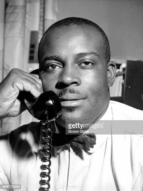 Mel King who runs an employment service for local teenagers is pictured in his office at the United South End Settlements in South Boston on Jul 26...