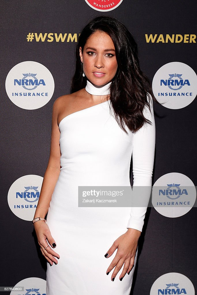 <a gi-track='captionPersonalityLinkClicked' href=/galleries/search?phrase=Mel+McLaughlin&family=editorial&specificpeople=6269340 ng-click='$event.stopPropagation()'>Mel McLaughlin</a> arrives during the 2016 Western Sydney Wanderers Awards at Qudos Bank Arena on May 3, 2016 in Sydney, Australia.