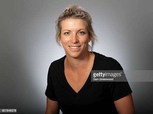 Mel Reid of England poses for a portrait at LPGA Headquarters on December 5 2016 in Daytona Beach Florida