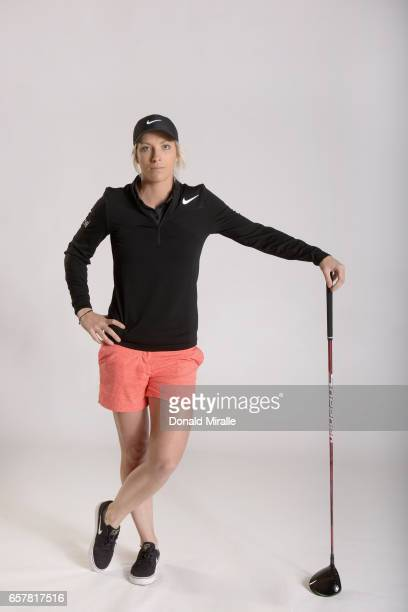 Mel Reid of England poses for a portrait at the Park Hyatt Aviara Resort on March 22 2017 in Carlsbad California