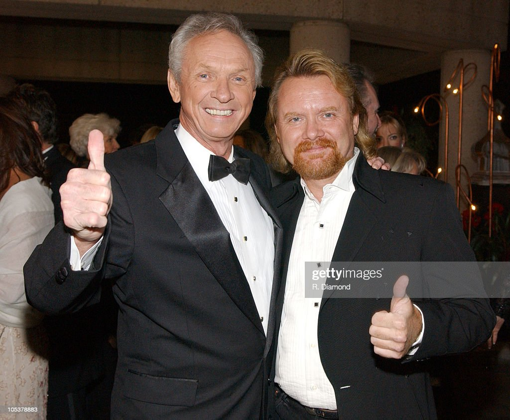 Mel Tillis and Lee Roy Parnell during 52nd Annual BMI Country Awards - Arrivals at BMI in Nashville, Tennessee, United States.