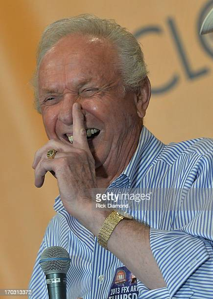 Mel Tillis appears at CMA Close Up Stage 70's Heritage Panel at Music City Convention Center on June 6 2013 in Nashville Tennessee