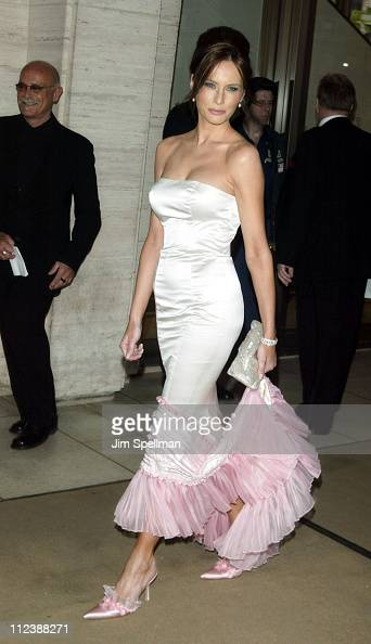 Melania Knauss during The Film Society of Lincoln Center Gala Tribute to Susan Sarandon at Avery Fisher Hall Lincoln Center in New York City New York...