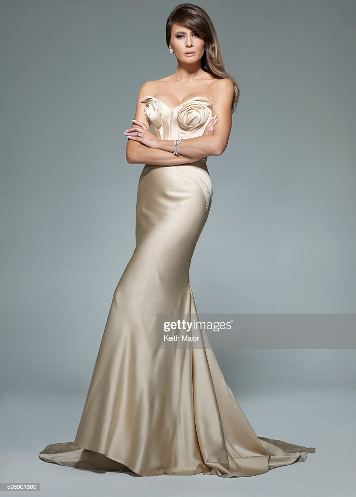 Melania Knauss Trump is photographed for Avenue Magazine on July 27 ...