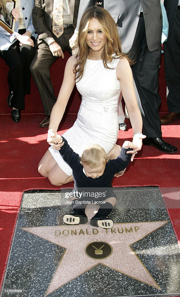 Donald Trump Honored with Hollywood Walk of Fame Star ...