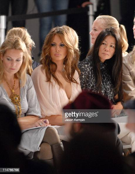 Fotos Und Bilder Von Olympus Fashion Week Spring 2007 J Mendel Front Row And Backstage