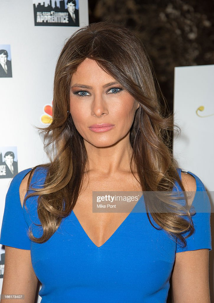 Melania Trump attends 'Celebrity Apprentice All-Star Event With Donald and Melania Trump' at Trump Tower on April 9, 2013 in New York City.