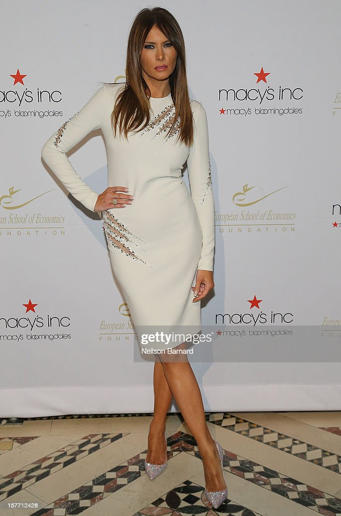 Melania Trump attends European School Of Economics Foundation Vision And Reality Awards on December 5, 2012 in New York City.
