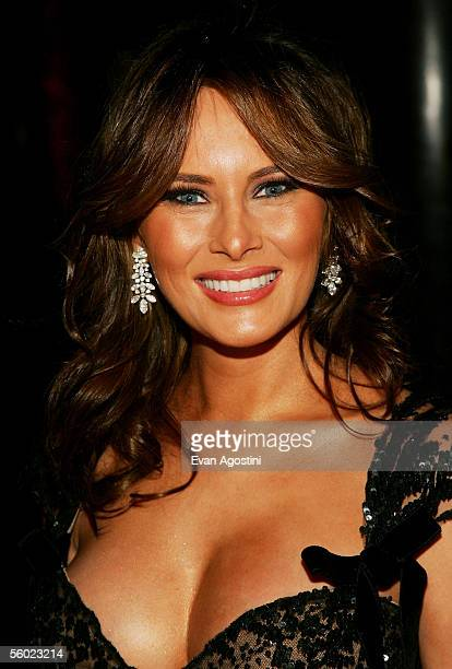 Melania Trump attends Fashion Group International's 22nd Annual 'Night Of Stars' at Cipriani's 42nd Street October 27 2005 in New York City