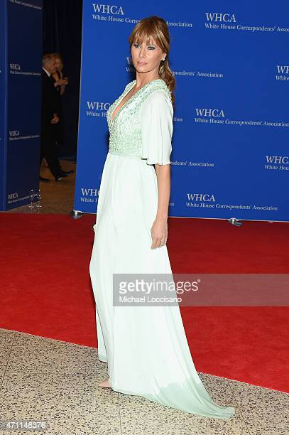 Melania Trump attends the 101st Annual White House Correspondents' Association Dinner at the Washington Hilton on April 25 2015 in Washington DC