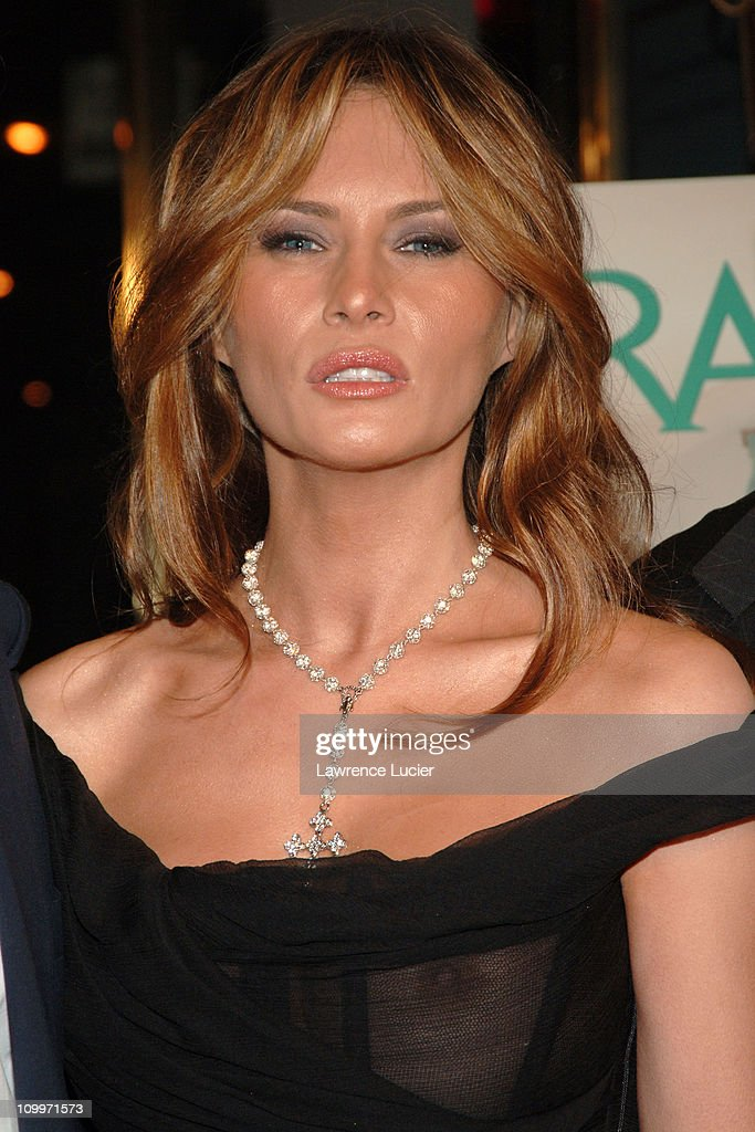 Melania Trump during Donald Trump Hosts the Opening Night Reception of ...