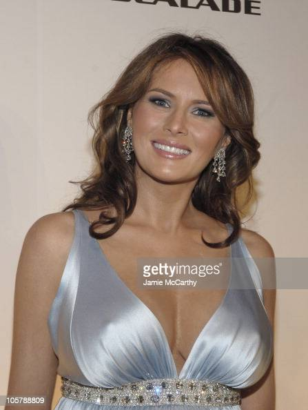 Melania Trump during Melania Trump Unveils The 2007 Cadillac Escalade ...