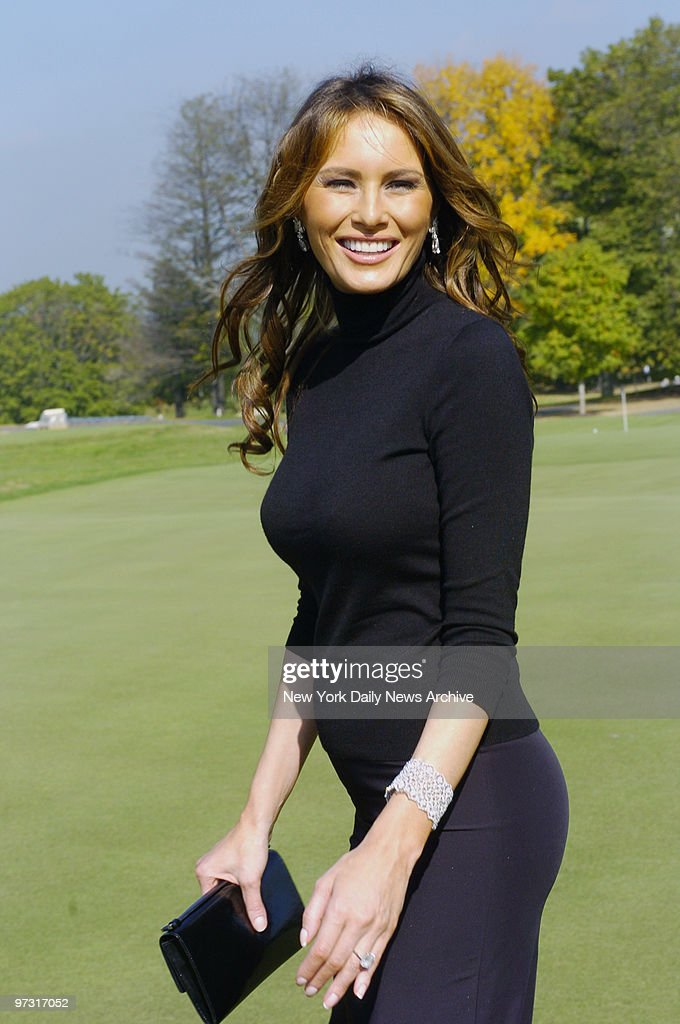 Melania Trump is at the Trump National Golf Course in Westchester ...