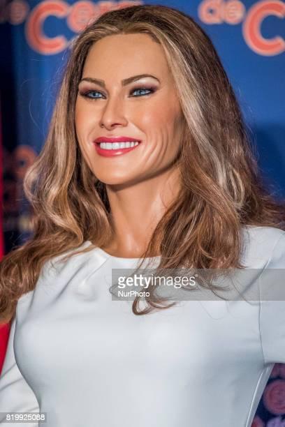 A Melania Trump wax figure is displayed at Wax Museum on July 20 2017 in Madrid Spain
