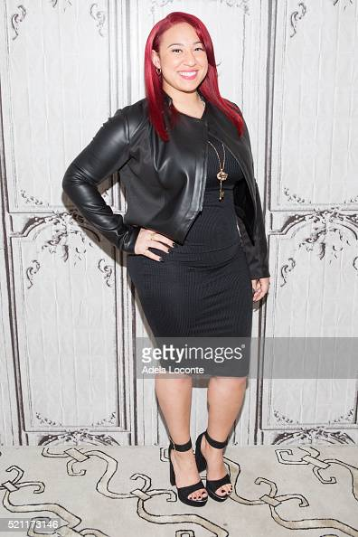 Melanie Amaro attends 'The One' at AOL Studios In New York on April 14 2016 in New York City