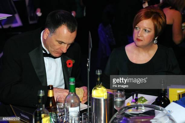 Melanie and Stephen Jones the parents of murdered schoolboy Rhys Jones at the Liverpool Unites Charity Dinner at Goodison Park Stadium Everton...