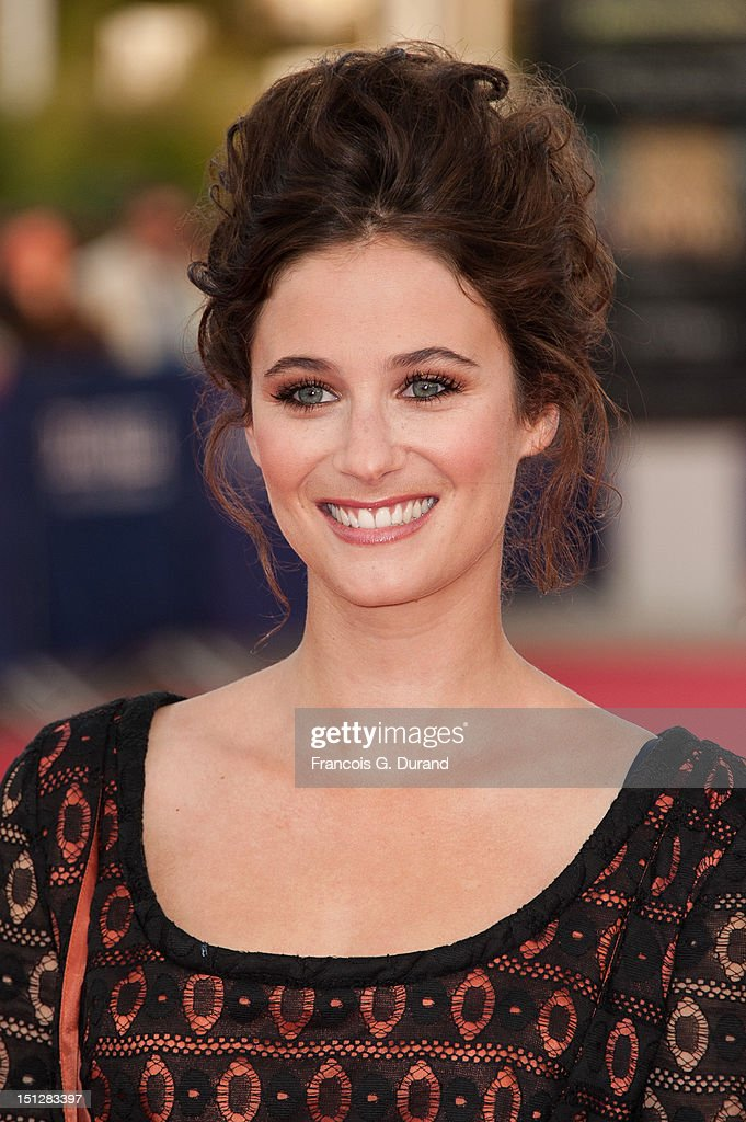 Melanie Bernier arrives at the 'Lawless' Premiere during the 38th Deauville American Film Festival on September 5, 2012 in Deauville, France.