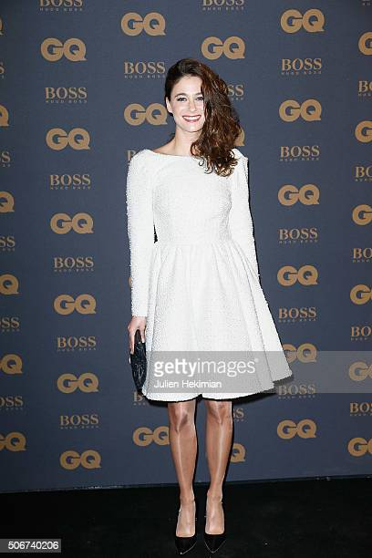 Melanie Bernier attends the GQ Men Of The Year Awards 2015 as part of Paris Fashion Week on January 25 2016 in Paris France