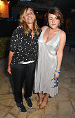 Melanie Blatt and Jaime Winstone attend the Groucho's 30th birthday party at Pikes on August 22 2015 in Ibiza Spain