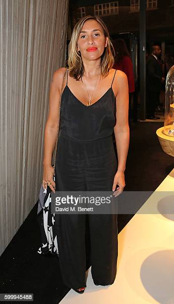 Melanie Blatt attends the Ara Vartanian store opening party on Bruton Place on September 7 2016 in London England