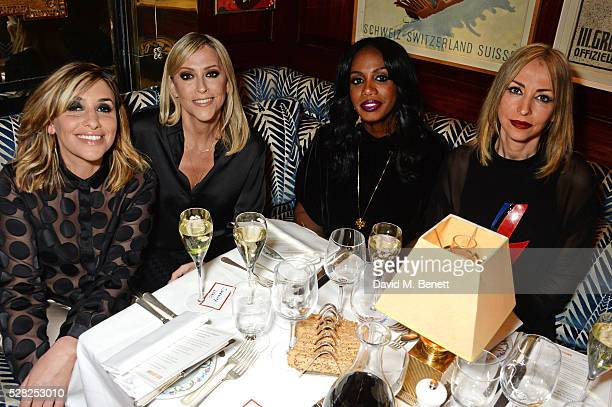 Melanie Blatt Natalie Appleton Shaznay Lewis and Nicole Appleton of All Saints attend an intimate performance by All Saints at Annabel's on May 4...