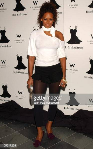 Melanie Brown aka Scary Spice during The 4th Annual Little Black Dress Gala Arrivals at W Los Angeles in Los Angeles California United States