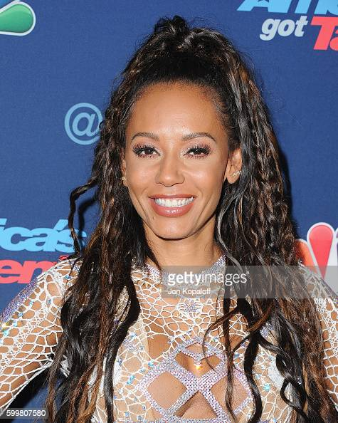 Melanie Brown arrives at 'America's Got Talent' Season 11 Live Show at Dolby Theatre on September 6 2016 in Hollywood California