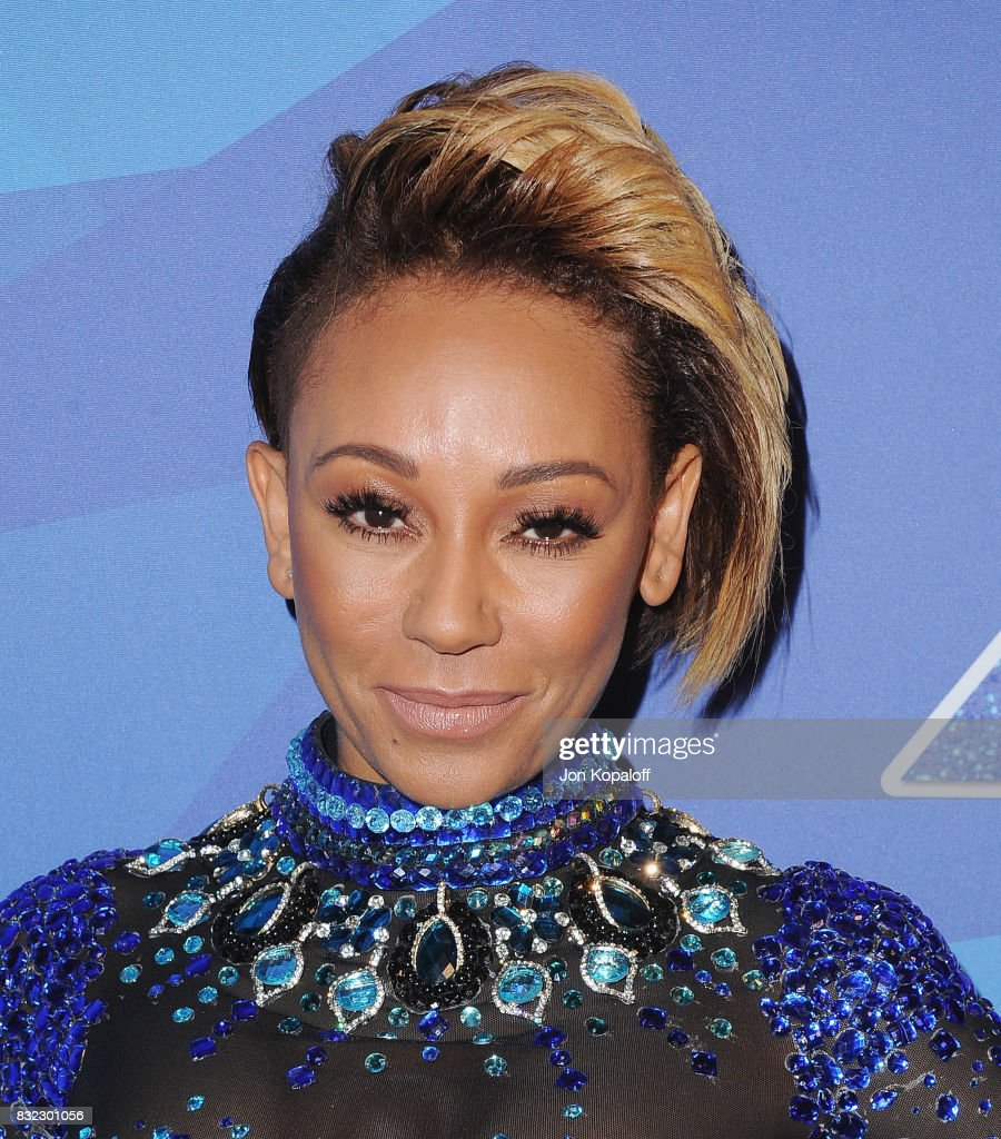 Melanie Brown arrives at NBC's 'America's Got Talent' Season 12 Live Show at Dolby Theatre on August 15, 2017 in Hollywood, California.