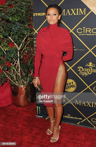 Melanie Brown arrives at the Maxim Hot 100 Party at the Hollywood Palladium on July 30 2016 in Los Angeles California