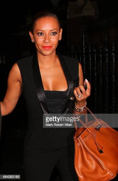 Melanie Brown at the Chiltern Firehouse on May 27 2014 in London England