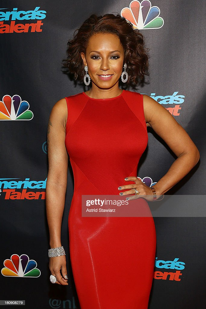 <a gi-track='captionPersonalityLinkClicked' href=/galleries/search?phrase=Melanie+Brown&family=editorial&specificpeople=159736 ng-click='$event.stopPropagation()'>Melanie Brown</a> attends 'America's Got Talent' Season 8 Pre-Show Red Carpet Event at Radio City Music Hall on September 17, 2013 in New York City.