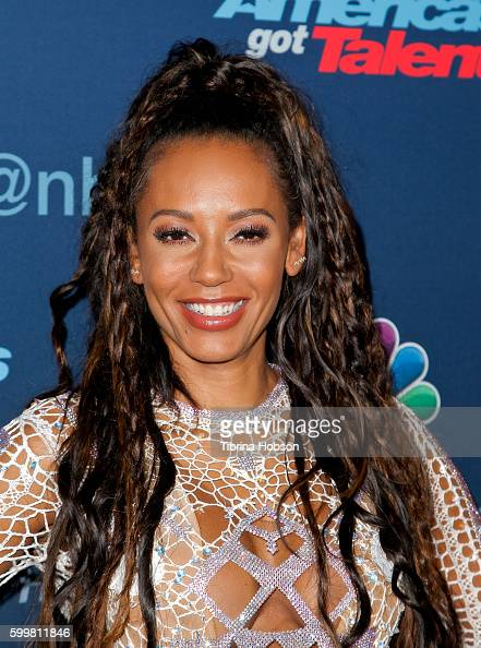 Melanie Brown attends the 'America's Got Talent' Season 11 Live Show at Dolby Theatre on September 6 2016 in Hollywood California