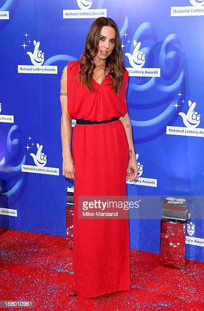 Melanie C attends The National Lottery Awards 2012 celebrating the UK's favourite Lotteryfunded projects and the difference they make to their...