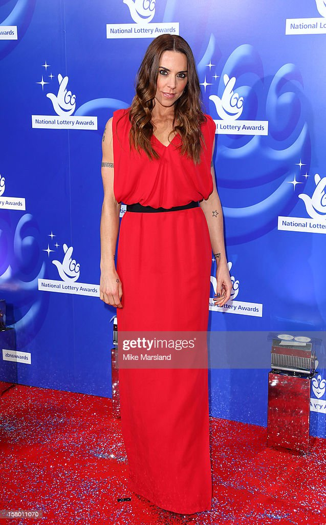 Melanie C attends The National Lottery Awards 2012, celebrating the UK's favourite Lottery-funded projects and the difference they make to their communities at The London Studios on December 8, 2012 in London, England.
