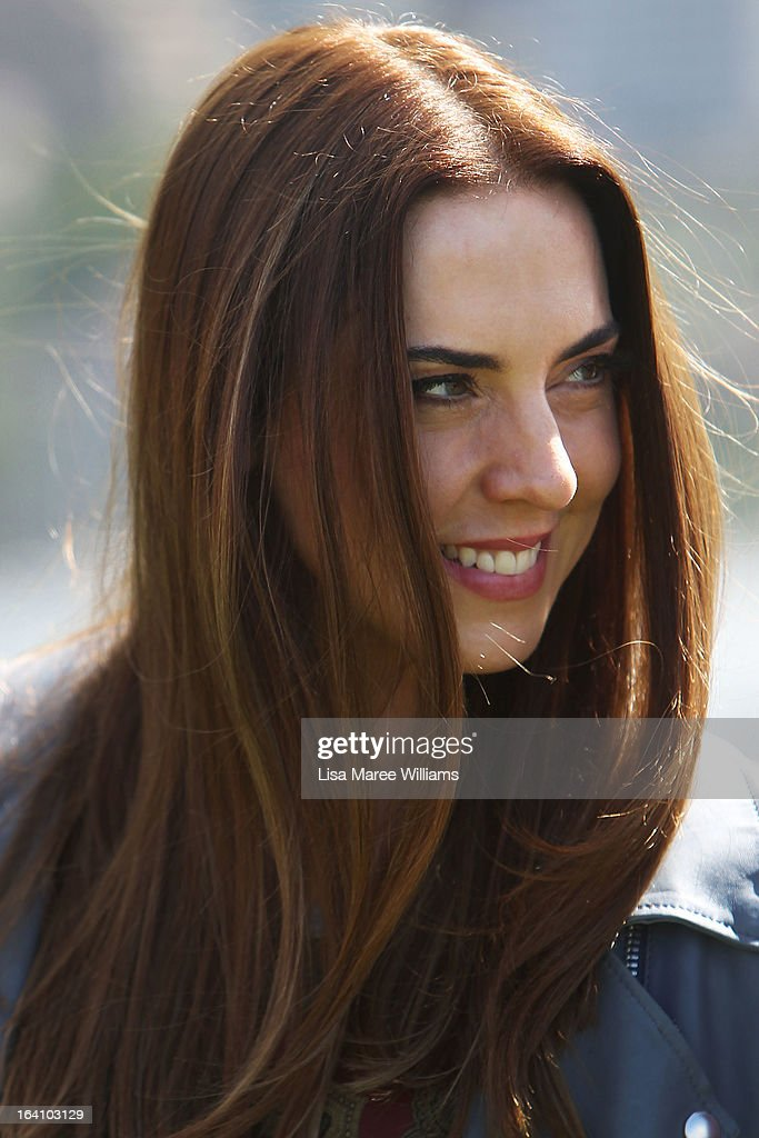Melanie C from the cast of Jesus Christ Superstar poses for media at Hicksons Road Reserve in The Rocks, on March 20, 2013 in Sydney, Australia.