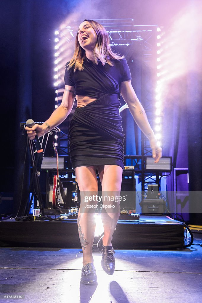 Melanie C of the Spice Girls performs with MO at The Roundhouse on October 22, 2016 in London, England.