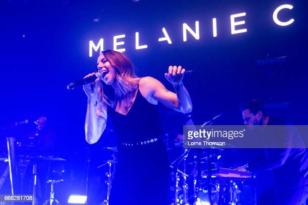 Melanie C performs at O2 Shepherd's Bush Empire on April 8 2017 in London England