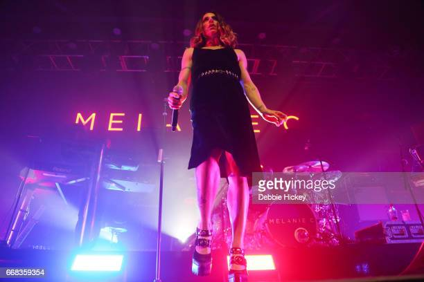 Melanie C performs at Vicar Street on April 13 2017 in Dublin Ireland